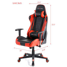 Computer Chair Gtracing Gaming Office Chair Racing Ergonomic Backrest And Seat