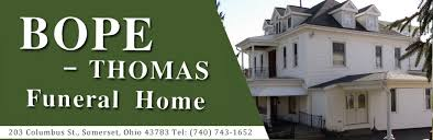 funeral homes columbus ohio bope funeral home somerset oh funeral home