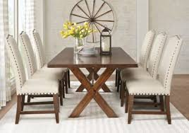 affordable rustic dining room sets rooms to go furniture