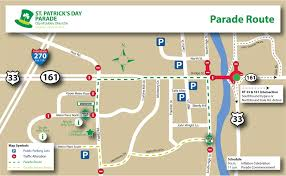 road map northwest usa dublin ohio usa st s day parade route road closures