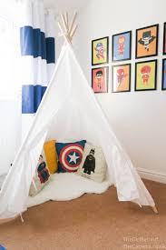 bedroom batman bedroom ideas using back wooden shelves and boxes