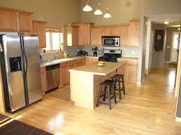 dark maple cabinets natural maple kitchen cabinets dark counter