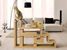 green home decor inhabitat green design innovation playful katris scratching post blocks fit together like tetris for cats