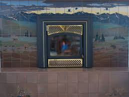 fireplaces u2013 alaska tile art
