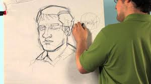 how to draw a self portrait for middle drawing tips youtube