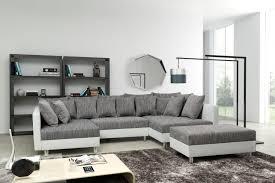 couch mit hocker eckcouch braun antik sofa u form federkern carprola for