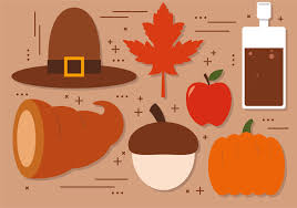 free thanksgiving vector decoration free vector