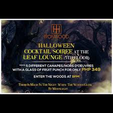 happy halloween cover photo see our events ironwood hotel tacloban city
