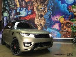 matte range rover custom grafix midnight matte sand metallic range rover paint
