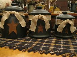 Primitive Kitchen Canisters 1000 Images About Canister Set Makeover On Pinterest Fabric