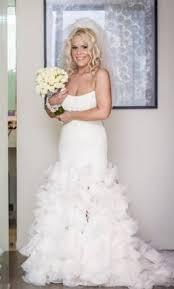 vera wang white vw351136 499 size 10 used wedding dresses