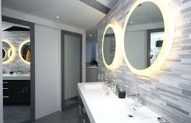lighted bathroom wall mirror large lighted bathroom wall mirror homefield