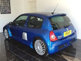 renault clio v6 used illiad blue renault clio for sale west sussex