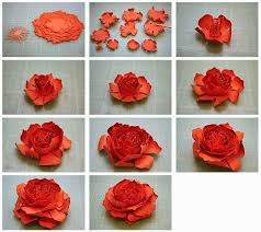 Make Flower With Paper - 132 best paper flowers images on pinterest flowers flower