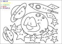 100 ideas math coloring sheets kindergarten