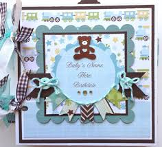 baby boy scrapbook album scrapbook mini album baby boy premade personalized on etsy 44 78