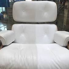 How To Clean White Leather Sofa We Are In The Process Of Cleaning A White Leather Sofa Look At
