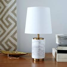 Small Table Lamp Black Table Lamp Parrish Blue Faux Marble Column Table Lamp Black Top