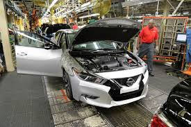 nissan kicks 2015 production starts for all new nissan maxima in smyrna tennessee