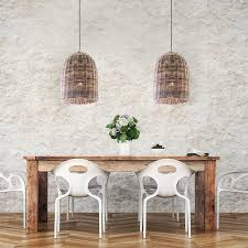 Wicker Pendant Light Large Wicker Pendant Light Bell Lighting Collective