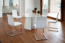 Acrylic Dining Room Tables by Contemporary Dining Table Glass Polyester Acrylic Twister