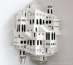 Ingrid Siliakus Ingrid Siliakus U0027 Origamic Architecture Architecture Kirigami