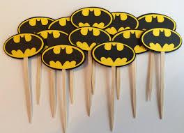 o brigadeiro de colher cupcake e biscoito do batman doce mell