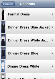 electric pi journal uniformity an iphone app for the navy