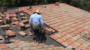 Tile Roof Repair Modern Roofing Tile Roofing Install
