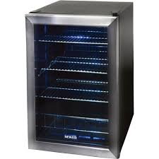 small beer fridge glass door newair beverage refrigerator u2014 holds 84 cans model ab 850 wine