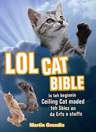 Lolcat Meme - the lolcat bible 盪 the worst things for sale