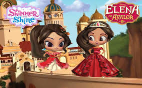 shimmer shine color episode disney princess elena avalor