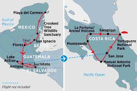Map Of Central America And Mexico by Central America Tours Travel U0026 Trips Peregrine Adventures En Gb