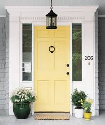 inviting door color ideas for welcoming the guests in sweeter way