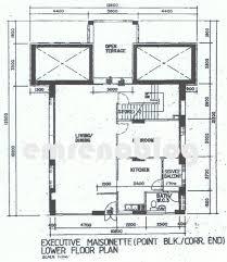Maisonette Floor Plan Pasir Ris Hdb Maisonettes With Sky Terraces Our Em Renovation