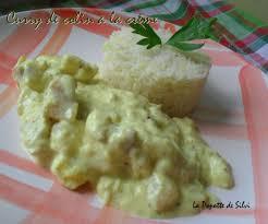 cuisiner du colin curry de colin à la crème la popotte de silvi