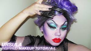 ursula sea witch makeup tutorial this is halloween youtube