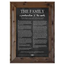 family proclamation the woods barn