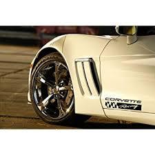corvette racing stickers amazon com chevrolet corvette racing zr1 z06 c6 grand sport decal