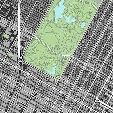New York Manhattan Map Central Manhattan Map Print Nyc Usa U2013 Maps As Art