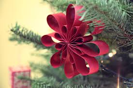 easy paper christmas decorations to make at home