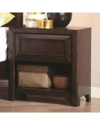 nightstand l with usb port amazing deal on coaster furniture greenough nightstand with 2 usb