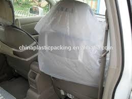 housse plastique siege auto auto réparation jetable en plastique de voiture housse de siège en