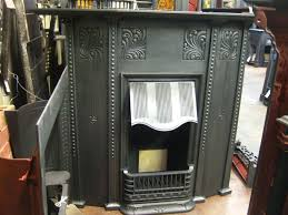 antique cast iron fireplace accessories screen doors scroll