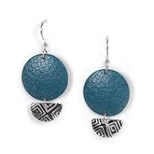 jody coyote earrings plato h venice lover blue heart and key jewelry pendant