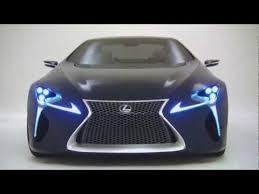 lexus lf lc blue concept heading to 2012 australian international