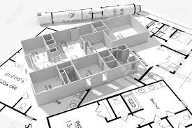 home building plans 3d home plans concept stock photo picture and royalty free image