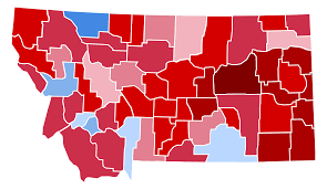 2016 Presidential Election Map File Montana Presidential Election Results 2016 Svg Wikimedia