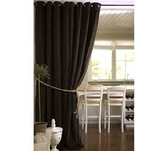 How To Hang Pottery Barn Curtains Velvet Grommet Drape Pottery Barn