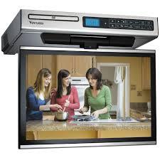 28 under cabinet tv for kitchen flip down tv rca kitchen